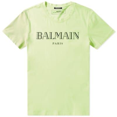 Balmain Paris Logo Tee