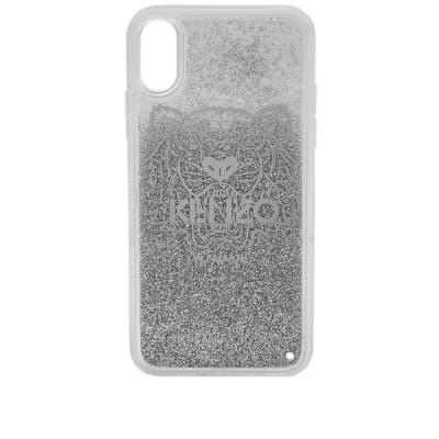Kenzo iPhone X Tiger Glitter Case