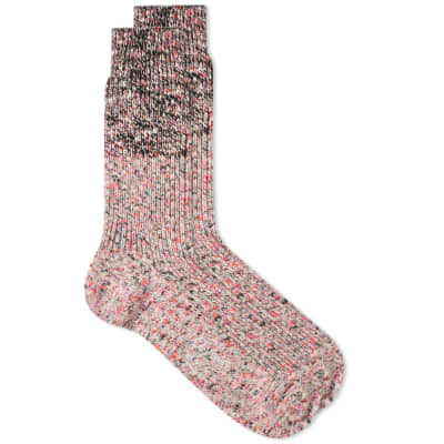 Ayame Socks White Noise Sock