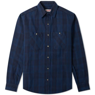 Kinfolk Hunters Point Plaid Flannel Shirt