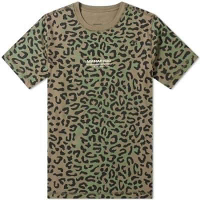 Maharishi Leopard Camo Tee