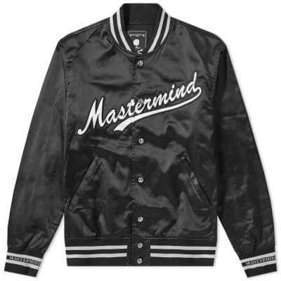 MASTERMIND WORLD Nylon Skull Varsity Jacket