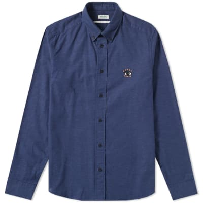 Kenzo Button Down Small Eye Shirt