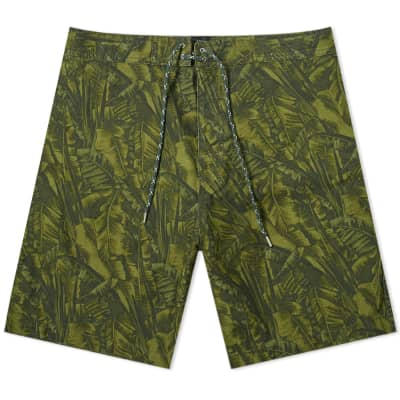 A.P.C. Jungle Print Short
