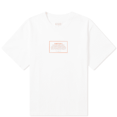 Maison Margiela 10 Caution Oversized Tee
