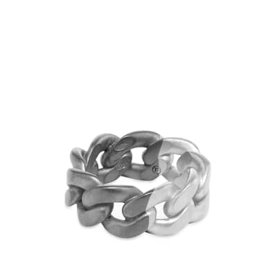 Maison Margiela 11 Bi-Colour Chain Band Ring