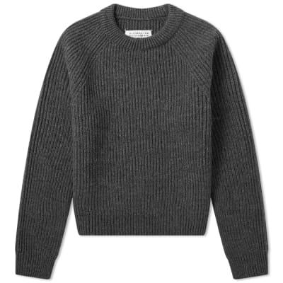 Maison Margiela 14 Classic Rib Knit Crew Neck