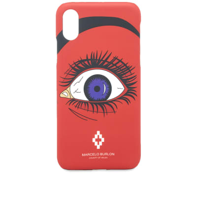 Marcelo Burlon Red Eye Iphone X Case