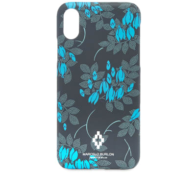 Marcelo Burlon Allover Flower Iphone X Case
