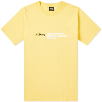 Stussy Design Group Tee