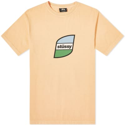 Stussy Stripes Pigment Dyed Tee