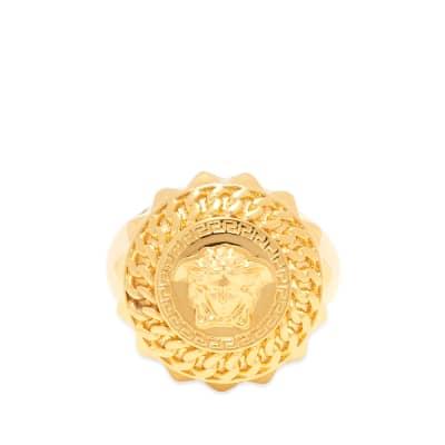 Versace Medusa Head Sovereign Ring