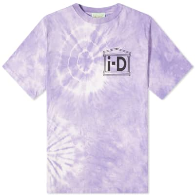 a3497f9bade1 Aries x i-D Flower Tie-Dye Tee