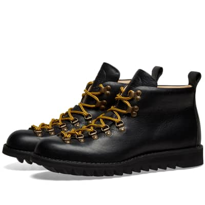 Fracap M120 Black Ripple Sole Scarponcino Boot