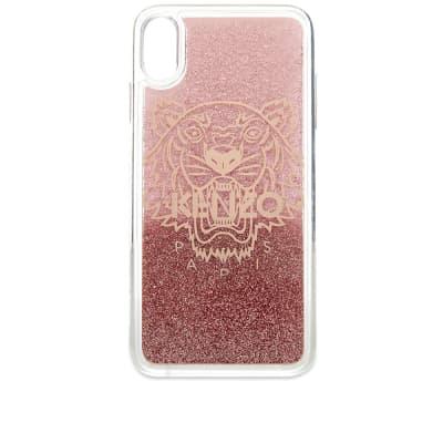 Kenzo iPhone XS Max Tiger Glitter Case