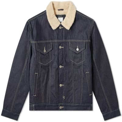 Ksubi Oh G Fleece Collar Jacket