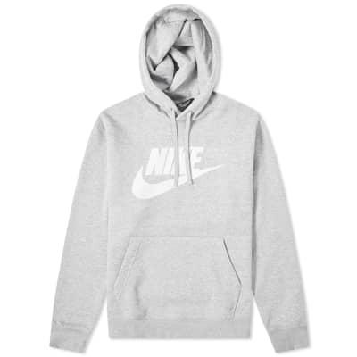 Nike Club Popover Logo Hoody