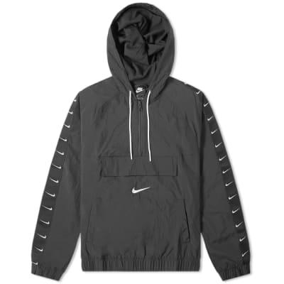 Nike Taped Swoosh Popover Jacket