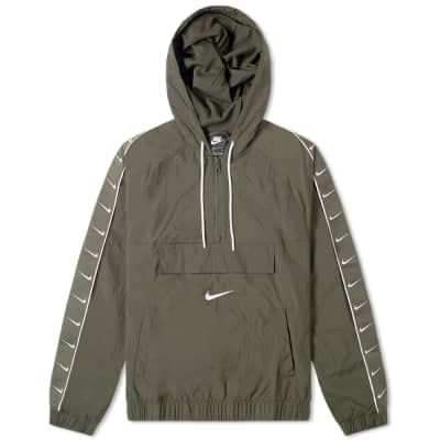 Nike Taped Swoosh Popover Jacket