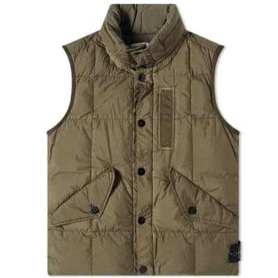 Stone Island Crinkle Reps Down Gilet