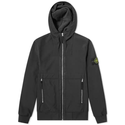 Stone Island Soft Shell-R Hooded Jacket