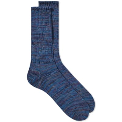 Anonymous Ism 5 Colour Mix Crew Sock