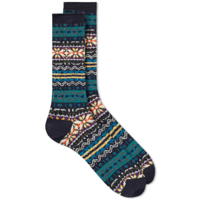 Anonymous Ism Fair Isle Crew Sock