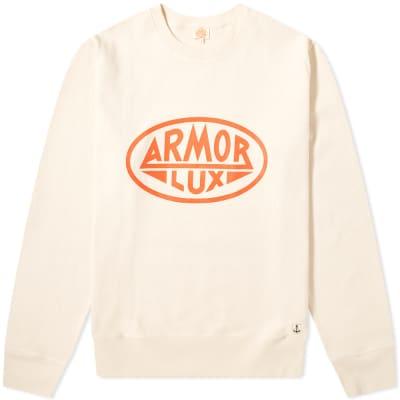 Armor-Lux 76661 Logo Crew Sweat