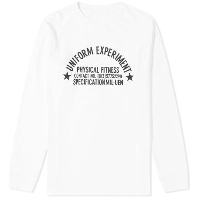 Uniform Experiment Long Sleeve UEN Physical Fitness Tee