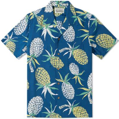 Wacko Maria Pineapple Hawaiian Shirt