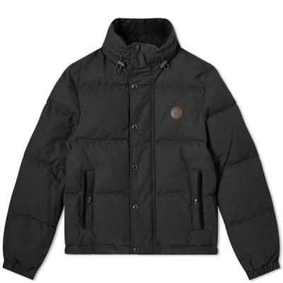 Belstaff Aviation Waxed Puffer Jacket