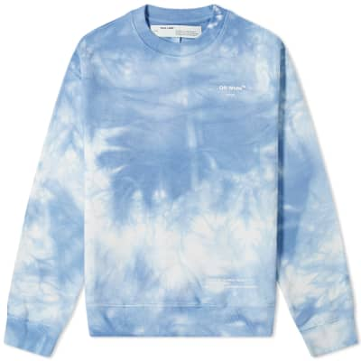 "END. x Off-White ""CHEMICAL WASH"" Crew Sweat"