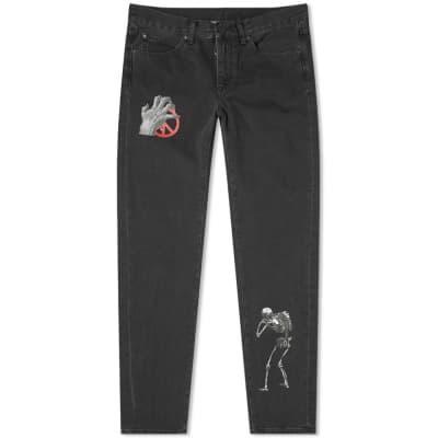 Off-White x Undercover Slim 5 Pocket Jean