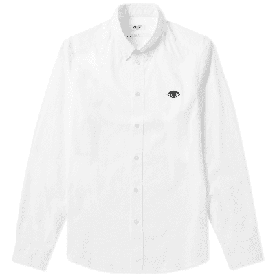 Kenzo Eye Logo Button Down Oxford Shirt