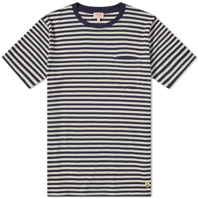 Armor-Lux 76023 Stripe Pocket Tee