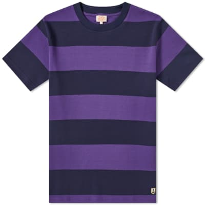 Armor-Lux 77344 Rugby Stripe Tee