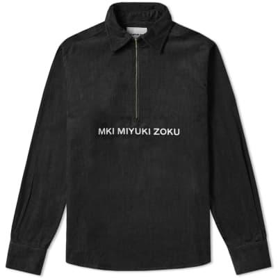 MKI Corduroy Zip Overshirt