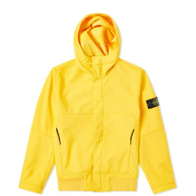 Stone Island Junior Soft Shell Hooded Jacket