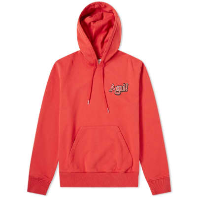 AMI Embroidered Text Logo Hoody