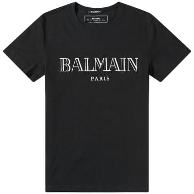 Balmain Text Logo Tee