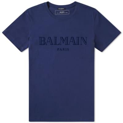 Balmain Tonal Logo Tee