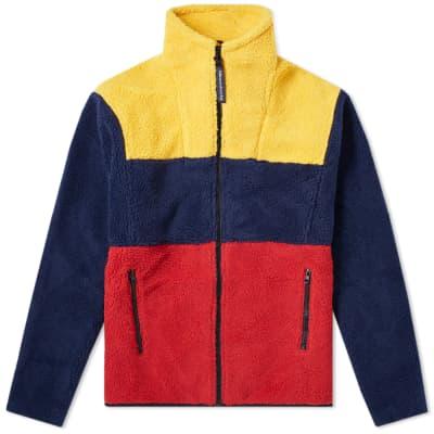 Billionaire Boys Club Colour Block Zip Fleece