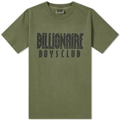 Billionaire Boys Club Overdyed Straight Logo Tee