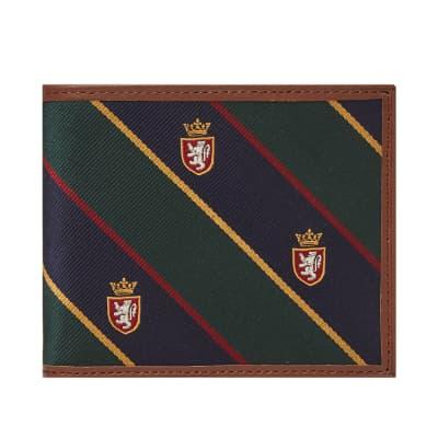 Polo Ralph Lauren Tie Silk Billfold Wallet