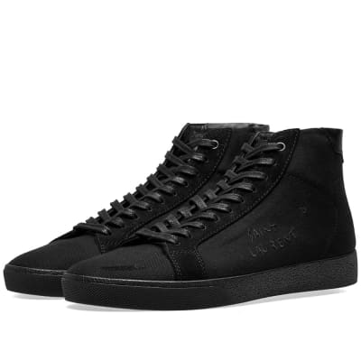 Saint Laurent SL-06 Mid Signature Canvas Sneaker