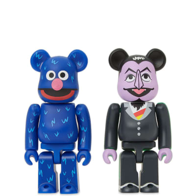 Medicom Count Von Count & Grover Be@rbrick