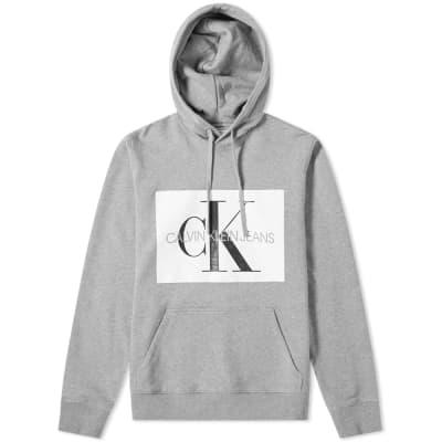 Calvin Klein Monogram Box Logo Hoody