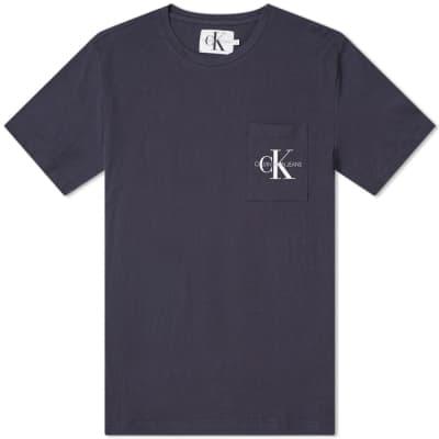 Calvin Klein Monogram Pocket Slim Fit Tee
