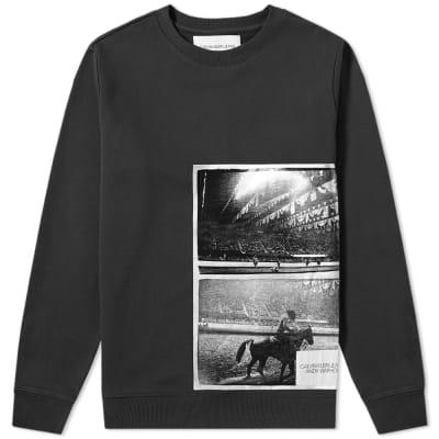Calvin Klein Warhol Rodeo Print Sweat