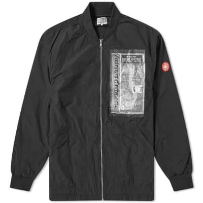 Cav Empt Unavoidable Patched Bomber Jacket